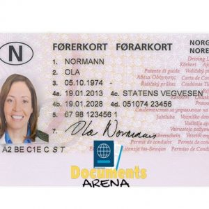 norwegian driving license