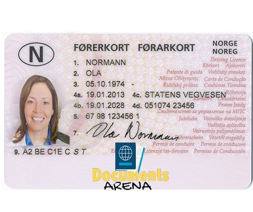 buy Norway Driver's License