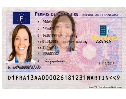 drivers license in France