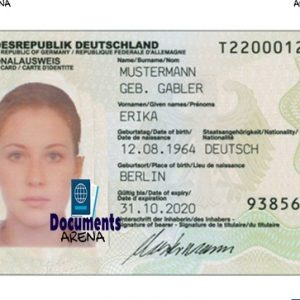 german id card generator