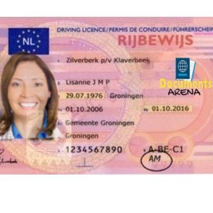 Netherlands Driving Licence