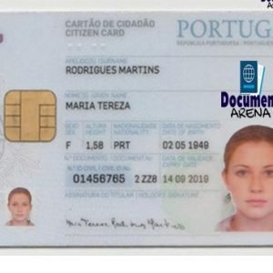 portugal national id card