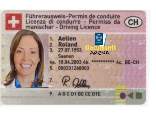 Swiss Driver's License, driving permit, license to drive, how to drive a car, international license .