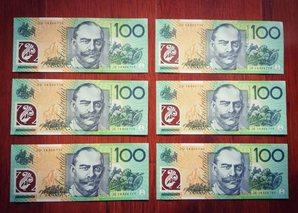 Buy fake Australian Dollar bills online 1