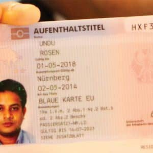 permanent residence germany